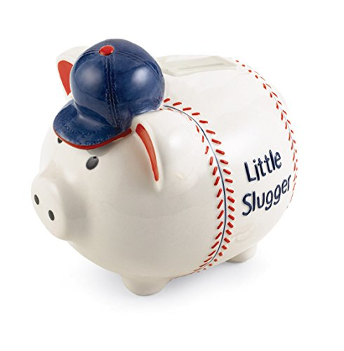 Mud Pie Baby Little Champ Little Slugger Musical Piggy Bank - 1