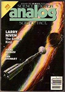 Analog Science Fiction Science Fact January 1987 (Vol. 107, No. 1) by Isaac Asimov, Larry Niven, Ian Stewart and W. R. Thompson