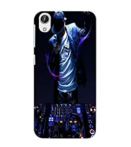 HTC DESIRE 626 DJ Back Cover by PRINTSWAG
