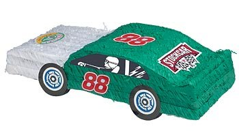 Stock Car Racing Pinata With Pull String Kit