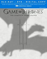 Game of Thrones: The Complete Third Season (Blu-ray/DVD Combo + Digital Copy)