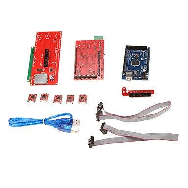 Zcl 2004Lcd Control Board 4988 Driver Mega 2560 R3 Development Board Kit For 3D Printer