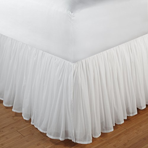 Voile Bed Skirt front-1045217