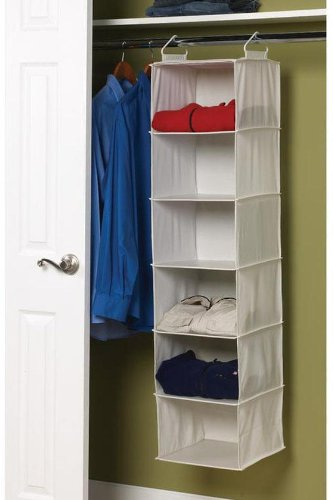 6 - shelf Sweater Organizer, 50
