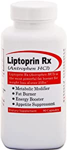 Liptoprin-RX Extreme Weight Loss Diet Pills - The Best Weight Loss Supplement That Works Fast for Women and Men 90 Capsules