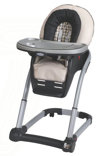 Graco Blossom 4-in-1 Comvertible High Chair Seating System, Vance (Baby Food Level 3 compare prices)