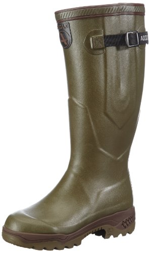 Aigle Rubber Boots  Parcours 2 Iso,  Stivali di gomma unisex adulto, Marrone (Braun (Khaki)), 42