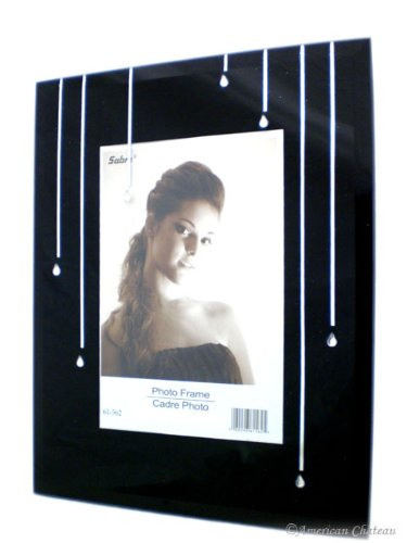Glass Crystal Mirror Glass 4X6 Photo Picture Frame