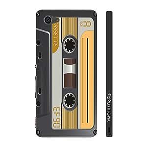 Enthopia Designer Hardshell Case Retro Cassette 6 Back Cover for Sony Xperia Z5 Mini