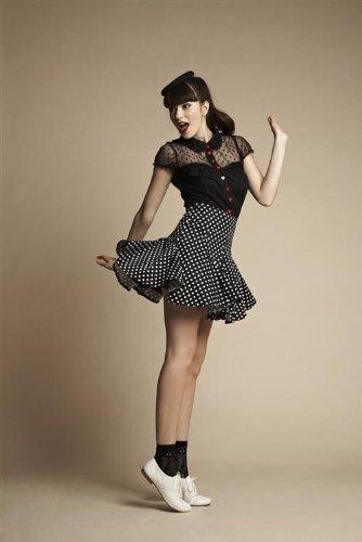 Friday On My Mind - Dallas Polka Dot Skirt