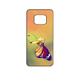 Vibhar printed case back cover for Samsung Galaxy Alpha ButterflyNest
