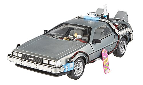 Elite Cult Classics Back To The Future Time Machine Delorean with Extras and Mr. Fusion 1/18 by Hotwheels BCJ97 (Model Time Machine compare prices)