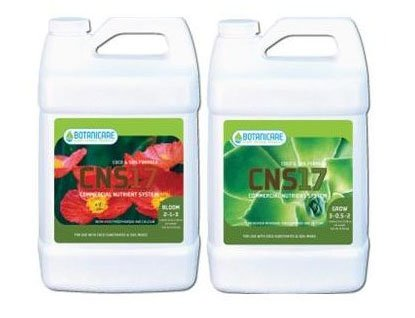 2.5 Gal. - Cns17 Grow - Coco And Soil Nutrient Solution - Vegetative Stimulator - 3-1-2 Npk Ratio - Botanicare 733056