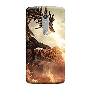 CaseLite Premium Printed Mobile Back Case Cover With Full protection For Moto X Play (Designer Case)