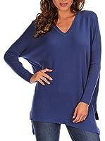 Bleu Marine Jersey Paula (Azul Medio)