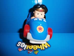Little People, DC Super Friends Wheelies, Wonder Woman