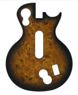 Guitar Hero Faceplate -- Maple Wood (Les Paul Controller) цены онлайн