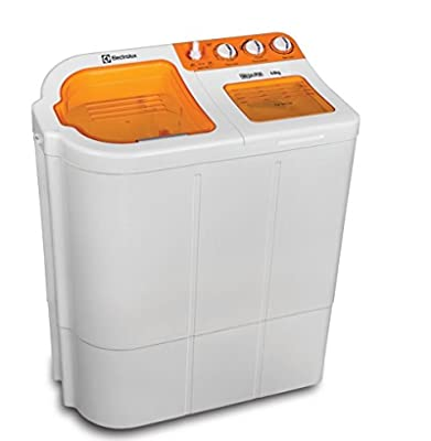 Electrolux Euro Glitz Plus Semi-automatic Top-loading Washing Machine (6.8 Kg, Luminous Orange)