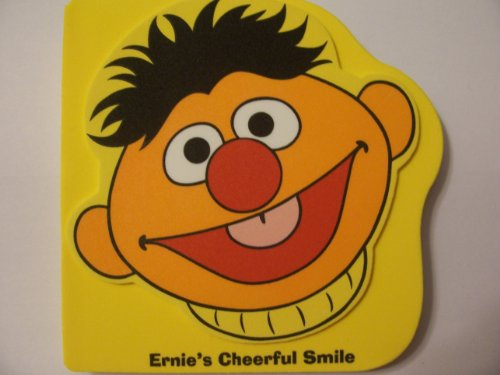 Sesame Street Foam-covered Board Books ~ Ernie's Cheerful Smile - 1