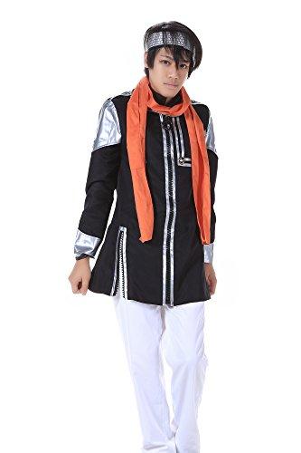 SDWKIT D.Gray-Man Cosplay Costume Baka Usagi Lavi Exorcist Uniform 1st Set XL (D Gray Man Lavi Cosplay Costumes)