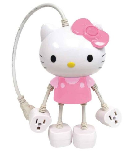 Hello-Kitty-Molded-4-Outlet-Power-Strip-79109