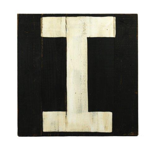 ZENTIQUE Wooden Letter, Monogrammed I