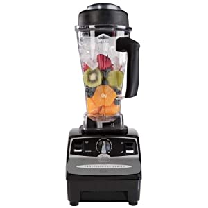 Vitamix CIA Professional Countertop Blender with 2+ HP Motor, Onyx