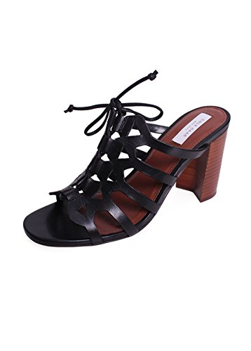 Image of Cole Haan Women's Claudia High Dress Sandal, Black, 8 B US