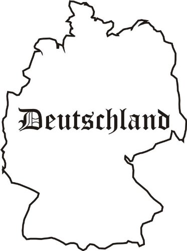 ... map Deutschland Germany ...