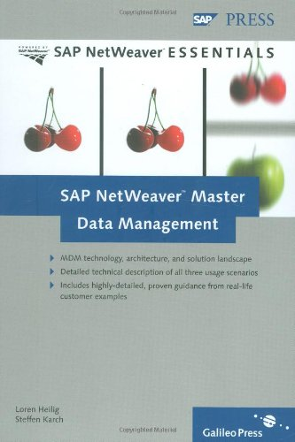 SAP NetWeaver Master Data Management (Sap Master Data Management compare prices)