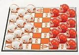 NCAA Tennessee Volunteers Miniature Helmets Checker Set