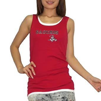 Buy College Concepts Gaucho Ladies Football Layered Camisole Tank Top by College Concepts