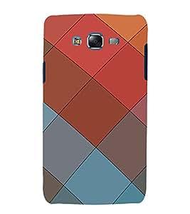 EPICCASE squares Mobile Back Case Cover For Samsung Galaxy J5 (Designer Case)