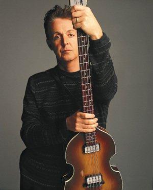 【Musical Story】 ミニチュア 楽器 フィギュア ポール・マッカートニー バイオリン ベース