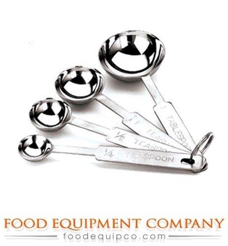 Paderno 42615-04 Measuring Spoon Set stainless steel