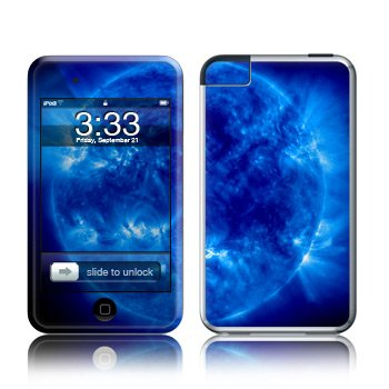 Apple iPod Touch 2G 3G Design Modding Skin Wallpaper - Blue Giant