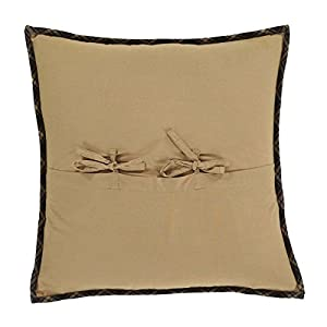 Dakota Star Primitive Country Patchwork Quilted Pillow Cover 16