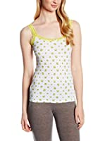 COTONELLA Look&Trend Pack x 3 Tops (Amarillo / Blanco)
