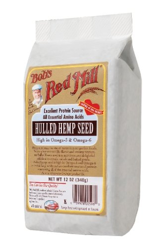 Bob's Red Mill Hulled Hemp Seed, 12-ounces