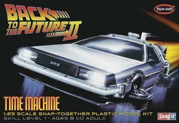 1/25 Back to the Future II Time Machine by ERTL (Delorean Model Kit compare prices)