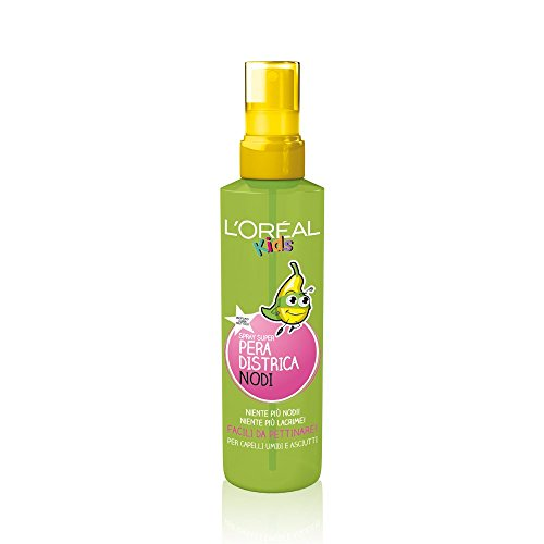 Elvive Paris Kids Super Pera Spray Districa Nodi per Capelli Umidi e Asciutti - 150 ml