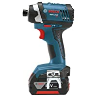 Bosch CLPK244-181 18-volt Lithium-Ion 2-Tool Combo Kit with 1/2-Inch Hammer Drill/Driver, Impact Driver, (2) 2.0Ah Batteries, Charger and Case by Bosch
