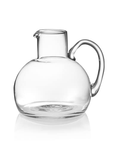 Kate Spade Saturday Rounded Mouth-Blown Glass Pitcher