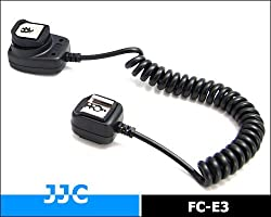 JJC FC-E3 (1.3M)TTL Off-Camera Shoe Cord compatible with CANON OC-E3