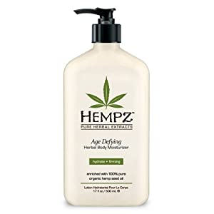 Hempz Herbal Moisturizer, Age Defying, Packaging May Vary,17- Fluid Ounce Bottle