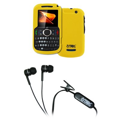 empire-giallo-custodia-rigida-gommata-stereo-vivavoce-cuffie-25-mm-per-boost-mobile-motorola-clutch-