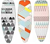 Brabantia Ironing Board Cover - Size D (135x45)cms 2mm thickness - Dunes, Peaks, Fields
