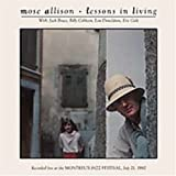 echange, troc Mose Allison - Lessons in Living