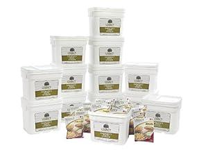 Bulk Disaster Prepper Food Storage Supply: 1440 Large Servings - 369 Lbs - Emergency... by Legacy Premium Food Storage