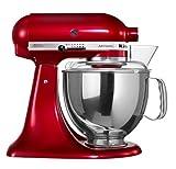 KitchenAid Artisan 5KSM150PSDCA 4.7-Litre 300-Watt Tilt-Head Stand Mixer (Candy Apple)